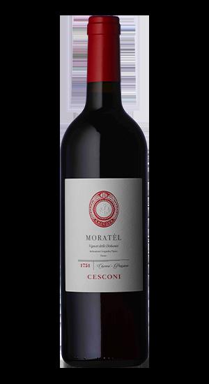 Moratel Vino Rosso Biologico, Trentino, Cesconi